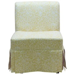 Slipcover For Armless Slipper Chair Small Shower Chairs Elderly Lark Manor Tiago Skirted And Reviews