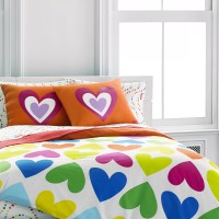 Agatha Ruiz de la Prada Bloom Hearts Comforter Set ...