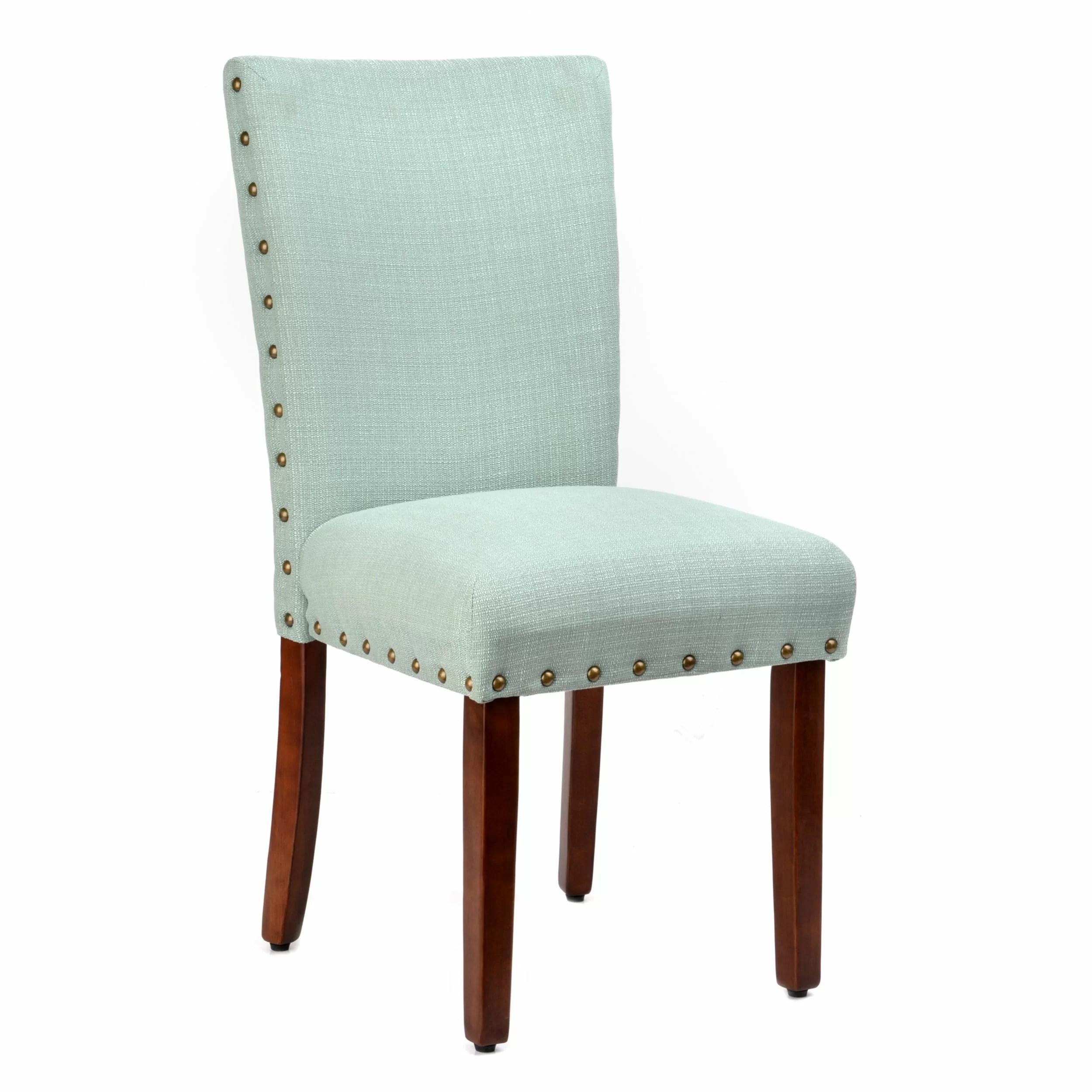 kirklands dining chairs revolving chair repair in kochi roundhill furniture elliya nailheads parsons