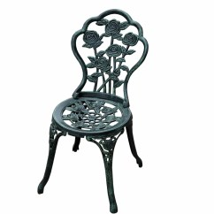 Cast Iron Outdoor Chairs Hanging Chair Singapore Outsunny 3 Piece Bistro Set And Reviews Wayfair