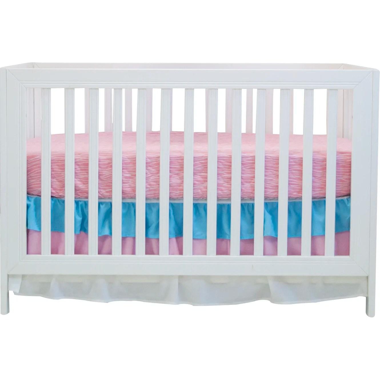 Aqua Peacock Basics 2 Piece Crib Bedding Set | Wayfair