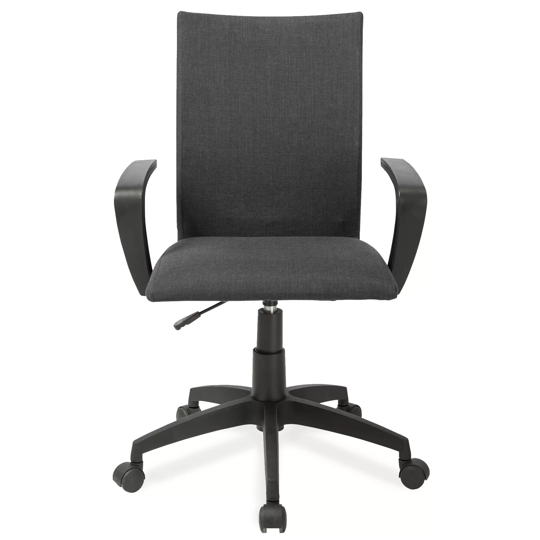 Office Chair With Arms Leick High Back Office Chair With Arms And Reviews Wayfair