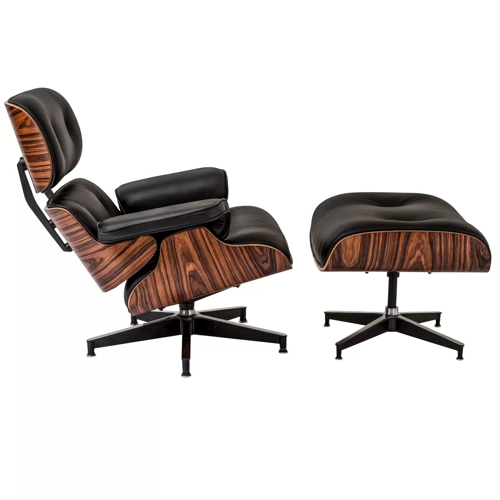 Chair And Ottoman Edgemod Windsor Lounge Chair And Ottoman Set And Reviews