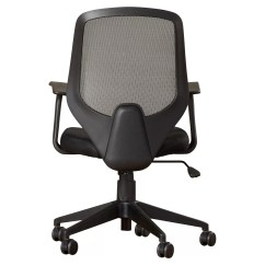 Mid Back Mesh Chair Ergonomic Malta Symple Stuff Swivel Task With Arms