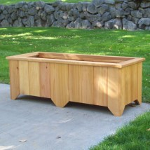 Woodcountry Rectangular Planter Box &