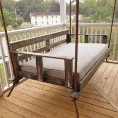 Swing Chair Wayfair Tiffany Blue Covers Joshua Creekside Porch