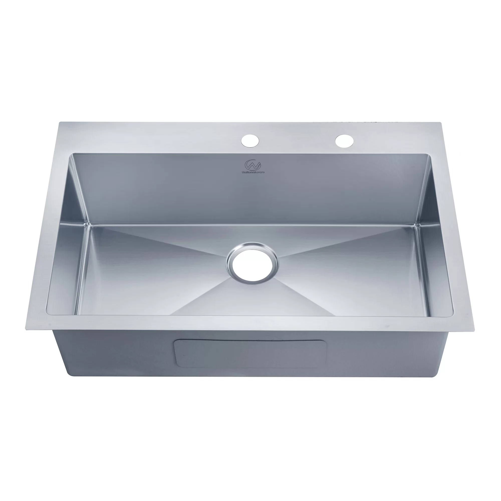 overmount kitchen sink storage boxes stufurhome 33 quot x 22 and reviews