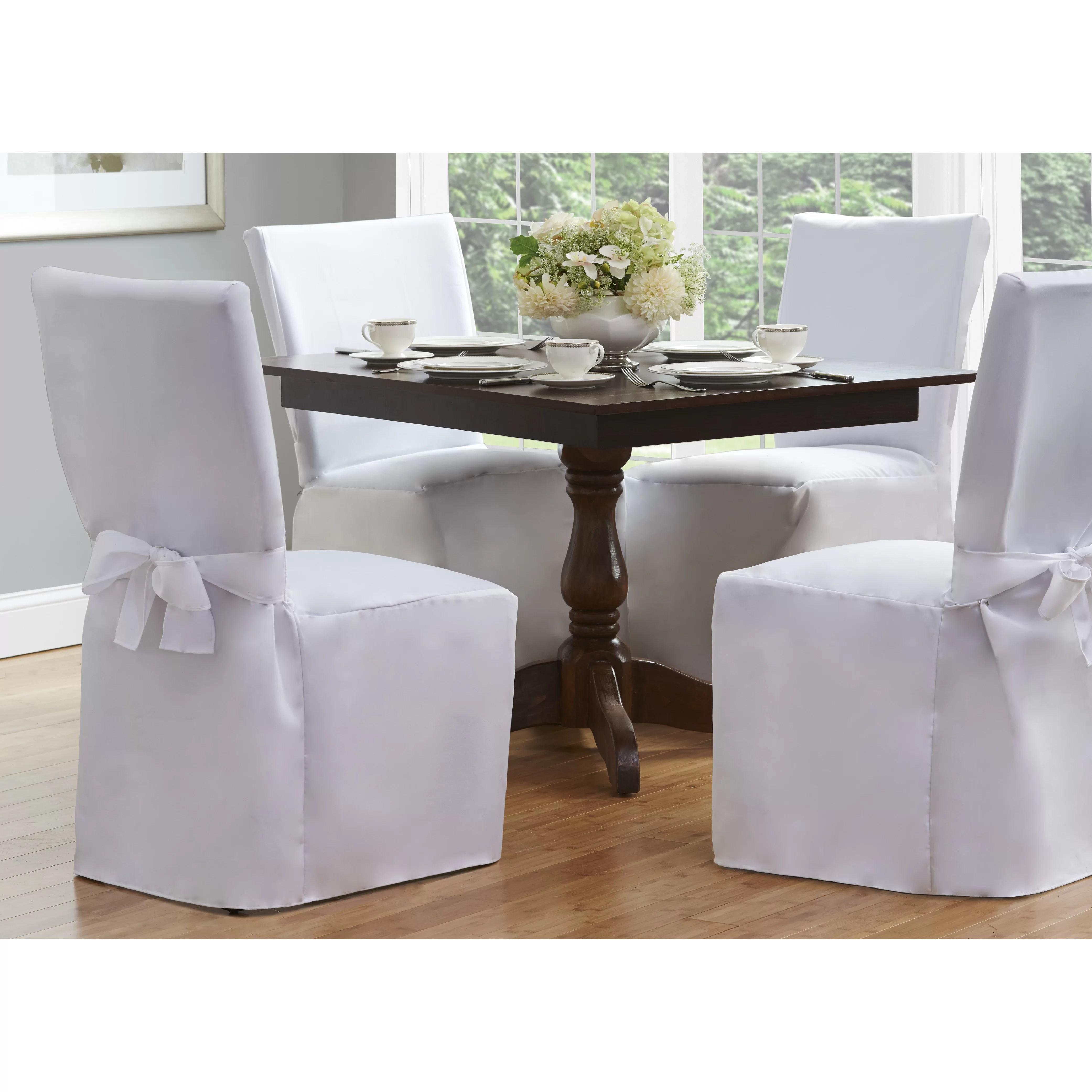 Fresh Ideas Dining Chair Slipcover  Reviews  Wayfair