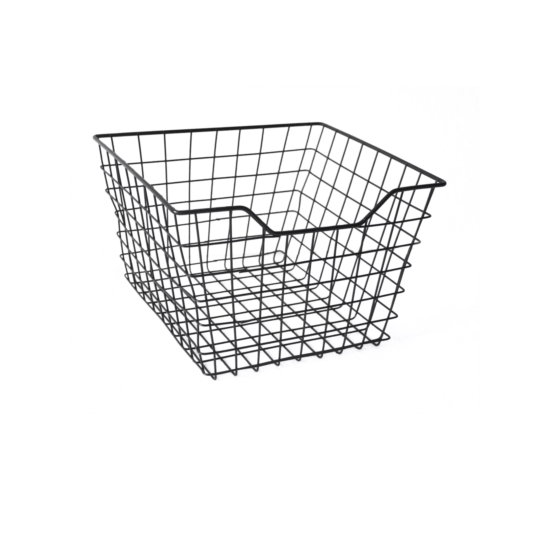 Cheungs Square Metal Wire Storage Bin Amp Reviews