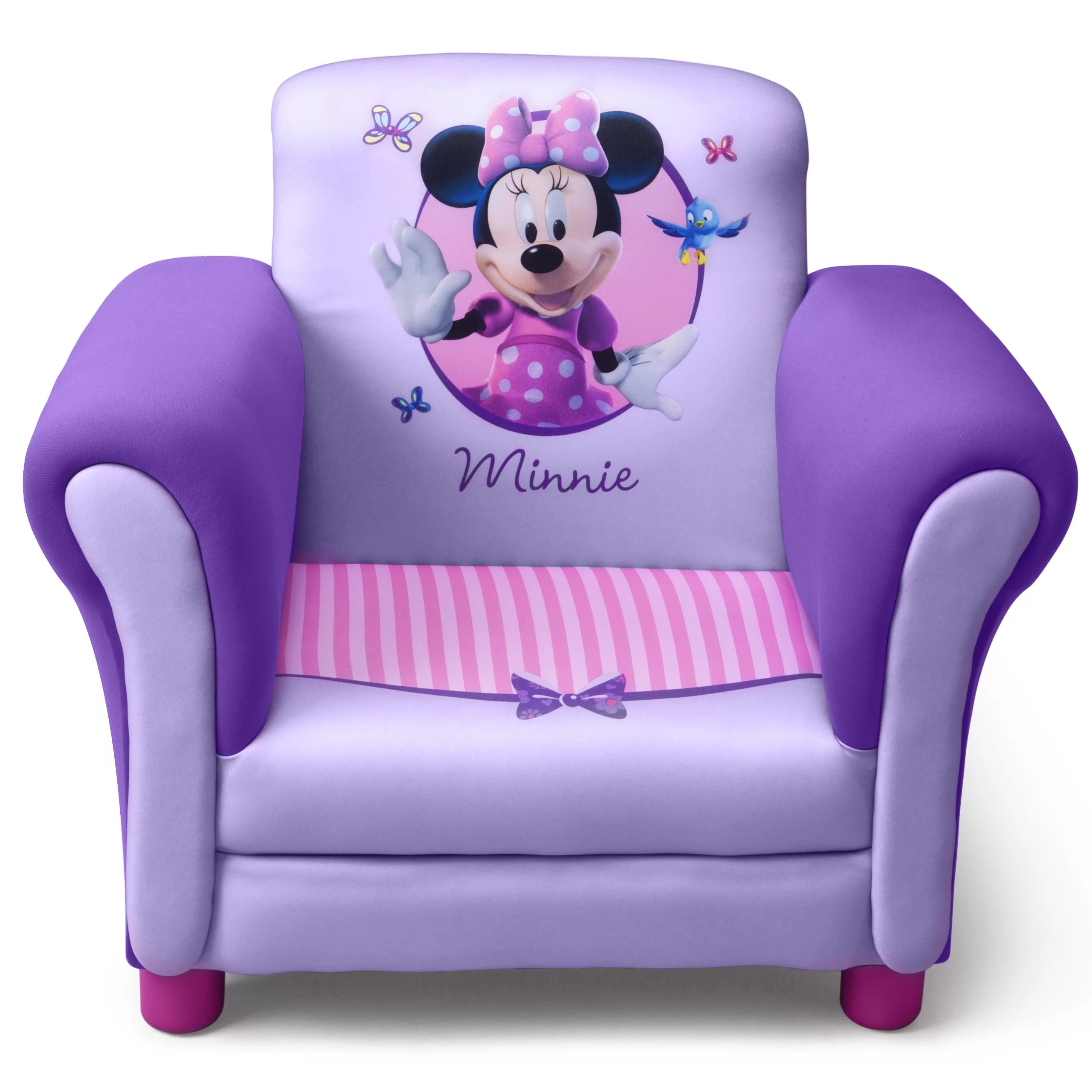 minnie mouse recliner chair hanging online pakistan delta children disney kids club
