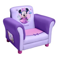 Minnie Mouse Upholstered Chair Gym Mini Treningssykkel Delta Children Disney Kids Club