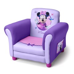Minnie Mouse Upholstered Chair Childrens Table And Chairs Wood Delta Children Disney Kids Club