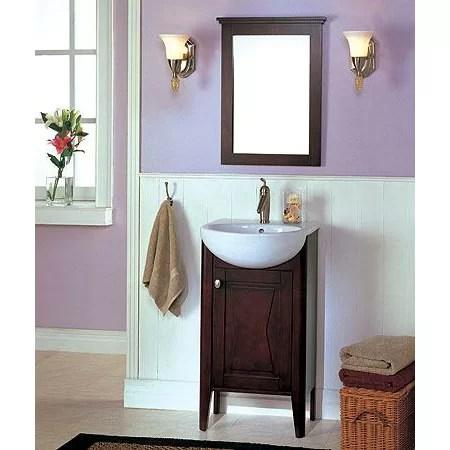 "Fairmont Designs Tuxedo 20"" Single Complete Bathroom"
