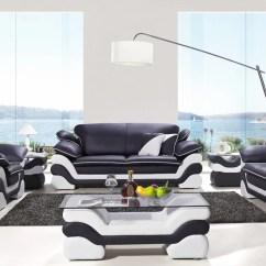 7 Piece Living Room Package Grey Chair Orren Ellis Nan Leather Set Wayfair