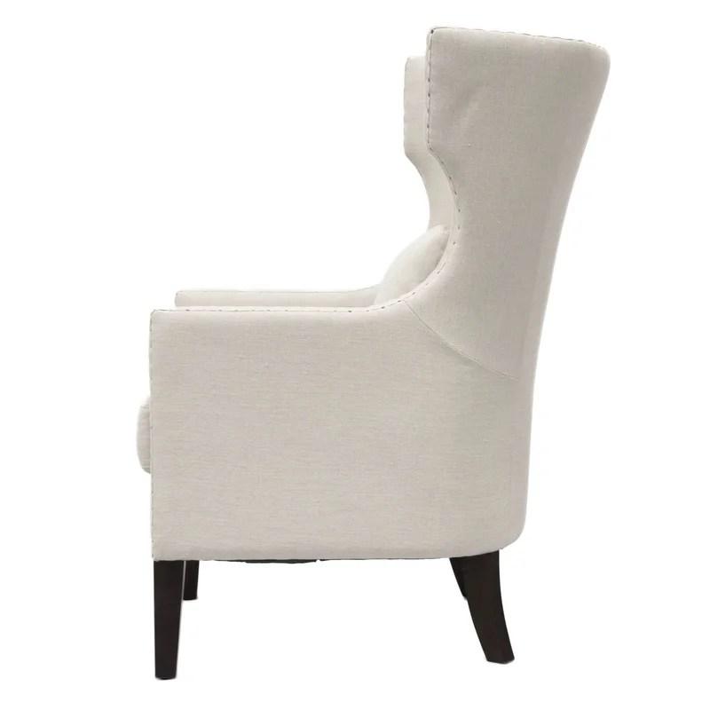 traditional wingback chair purple sashes gracie oaks demaris wayfair