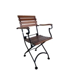 French Cafe Chairs How To Reupholster Kitchen Rattan Bistro Wayfair Folding Patio Dining Chair Set Of 2