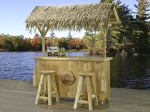 Outdoor Tiki Bar Sets