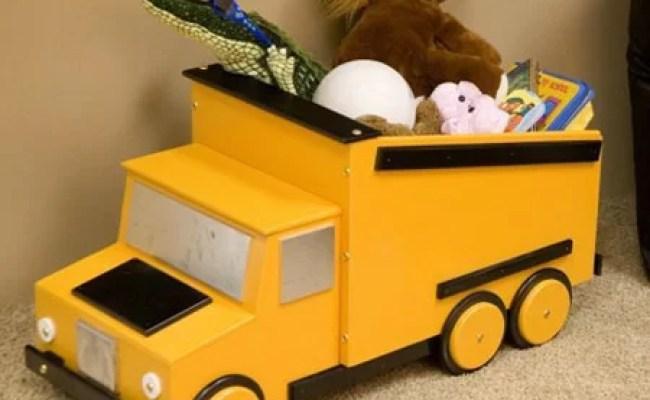 Just Kids Stuff Dump Truck Toy Box Reviews Wayfair Ca