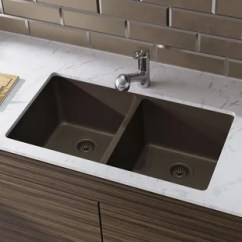 Brown Kitchen Sink Butcher Block Island Undermount Sinks You Ll Love Wayfair Ca Save