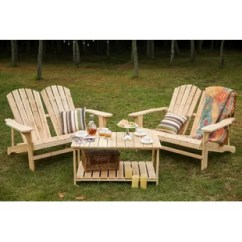 Kids Adirondack Chair And Table Set With Umbrella How To Raise A Office Height Wayfair Ogrady 3 Piece Double