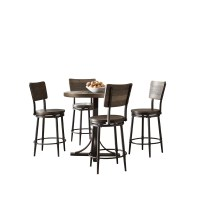 Putney 5 Piece Counter Height Breakfast Nook Dining Set ...