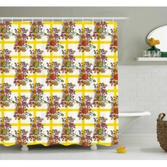 Fruit Decor For Kitchen Oil Rubbed Bronze Faucets Wayfair Fruits Shower Curtain
