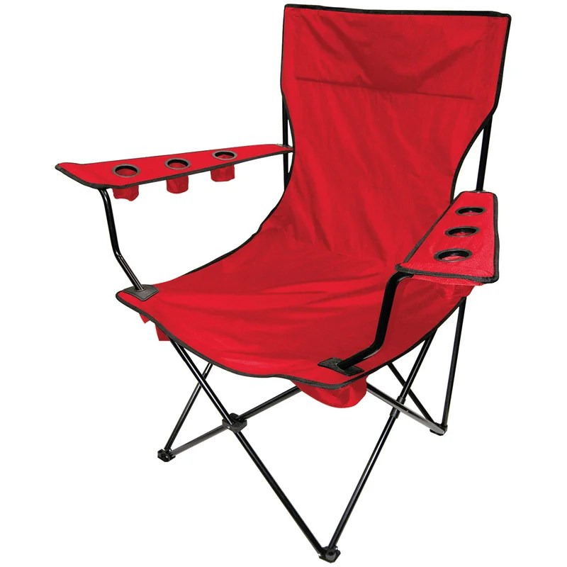 giant folding chair sure fit stretch short dining cover on the edge marketing kingpin camping wayfair