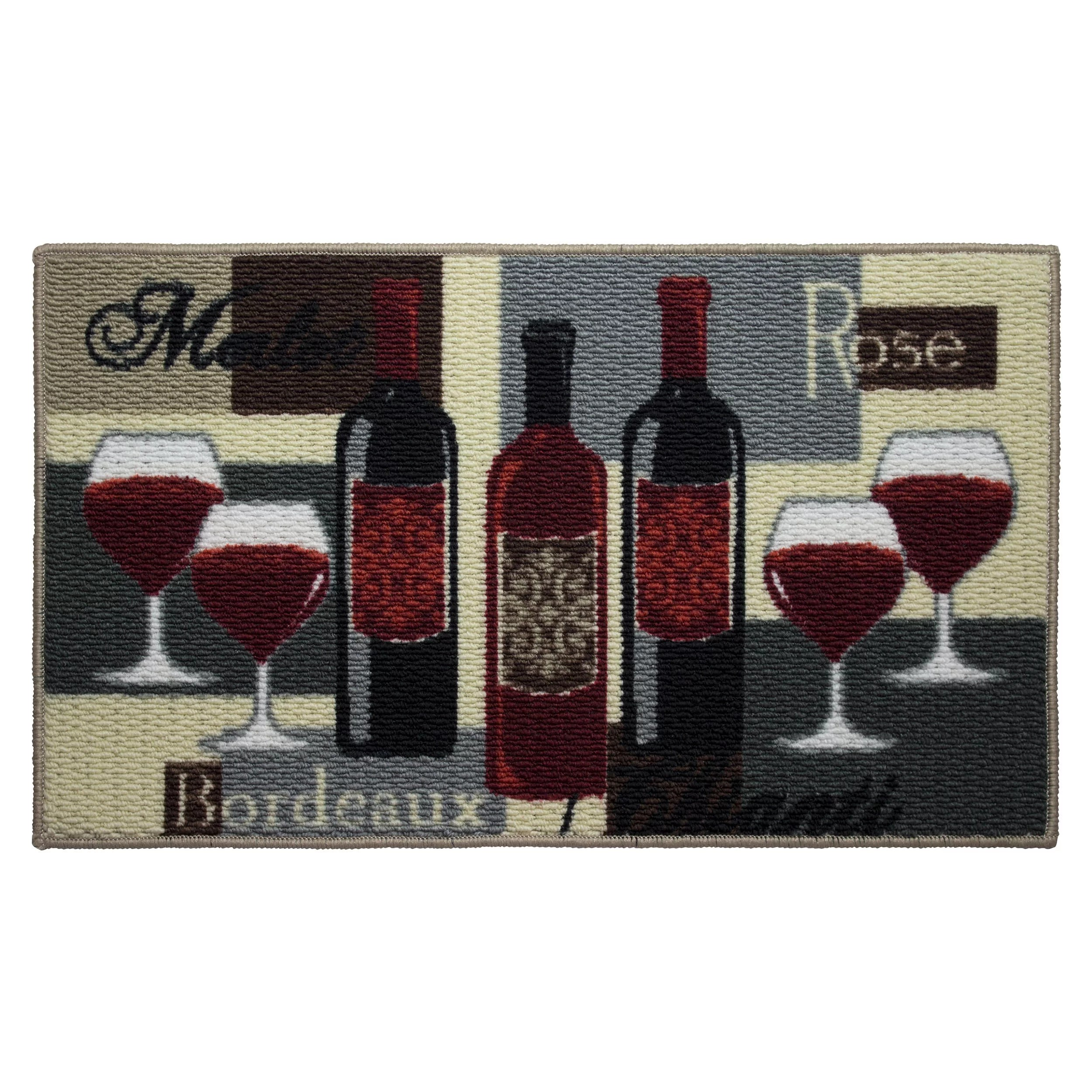 wine kitchen rugs cabinets online for wayfair textured loop time area rug