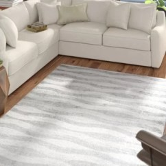 Rugs In Living Room Ideas Dark Grey Couch White You Ll Love Wayfair Pantheras Abstract Waves Gray Area Rug