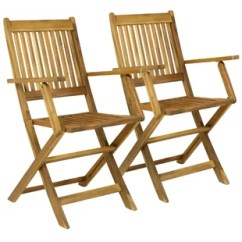 Wooden Garden Chairs Uk Barrel Back Cane Chair Folding Wayfair Co Haslemere Set Of 2