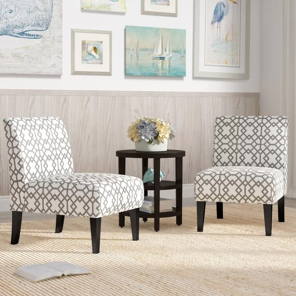 2 accent chairs and table set infinity massage chair highland dunes veranda slipper reviews wayfair