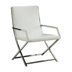 Metal Armchair Zero Gravity Patio Chair Xl High Back Armchairs Wayfair Singh Backrest Polyurethane Upholstered