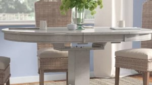 Grey White Kitchen Dining Tables You'll Love In 2019