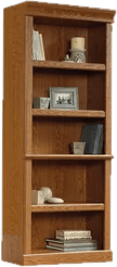 bookcases oak transparent bookshelves wayfair