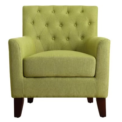 Green Accent Chairs Youll Love  Wayfair