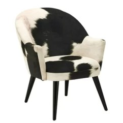 Cow Print Chair Office Chairs For Bad Backs Hide Tub Wayfair Co Uk Tindal