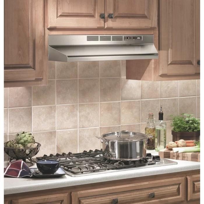 kitchen range hoods commercial broan 30 ductless under cabinet hood reviews wayfair ca