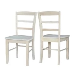 Unfinished Wooden Chairs Cheap Plastic Table And For Kids Dining You Ll Love Wayfair Quickview