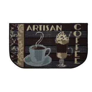 coffee rugs for kitchen seat covers chairs wayfair textured loop artisan area rug