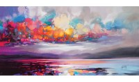 Caracella 'Stratocumulus' by Scott Naismith Painting Print ...