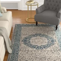 Light Gray Living Room Rug Large Paintings For India Blue And Area Wayfair Sofia