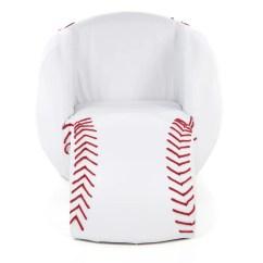 Baseball Desk Chair Dorm Room Lounge Chairs Gift Mark Kids Novelty And Ottoman