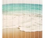 beachy shower curtain
