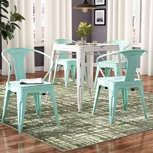 metal farmhouse chairs wedding chair covers reddit wayfair quickview
