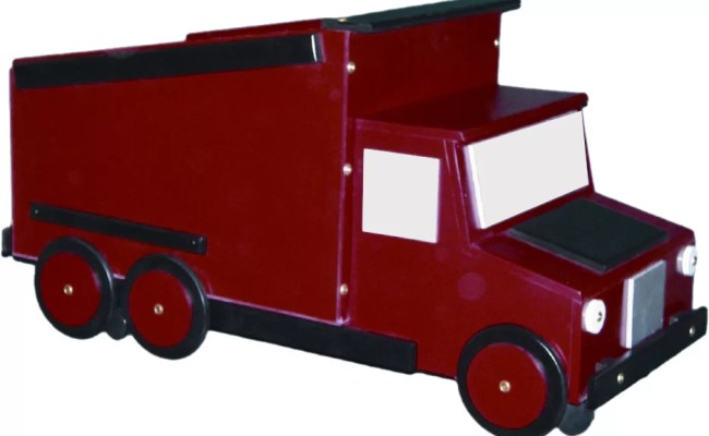Just Kids Stuff Dump Truck Toy Box Reviews Wayfair