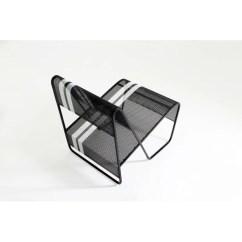 Steel Lounge Chair Office Chairs Las Vegas Markamoderna Lami Perforated Stainless Wayfair