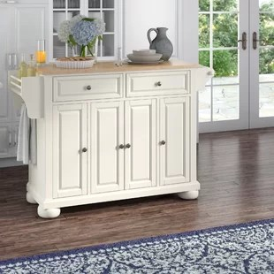 kitchen island cabinet bar table peninsula wayfair quickview