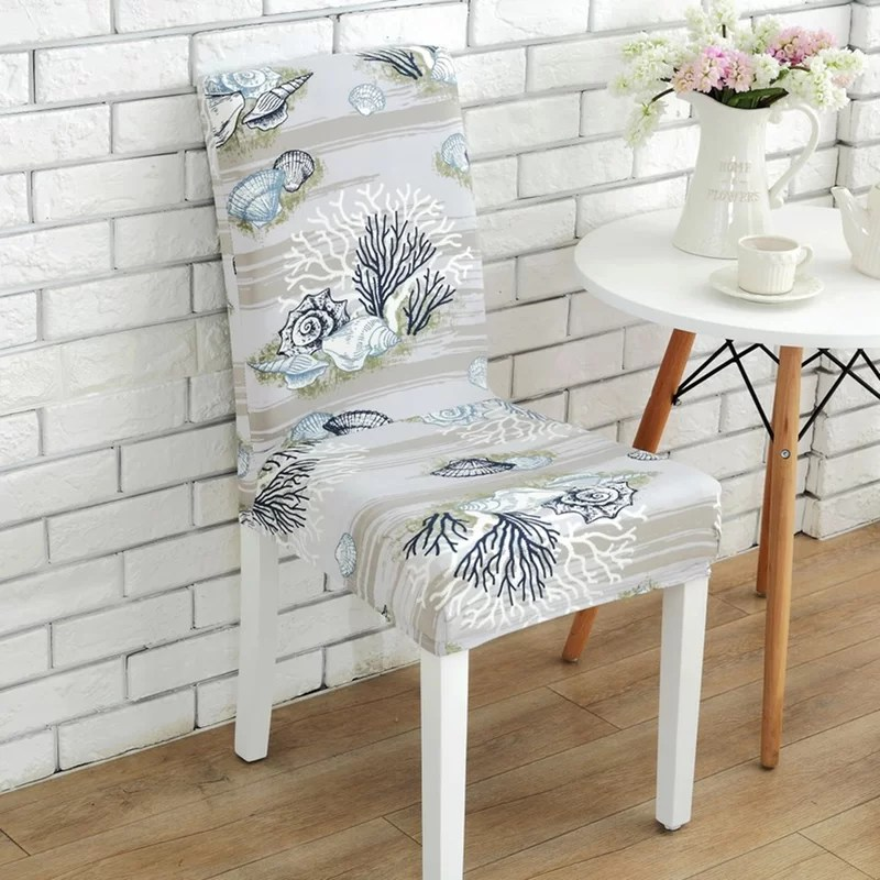 dining chairs slipcovers chair stool white highland dunes elegant box cushion slipcover reviews