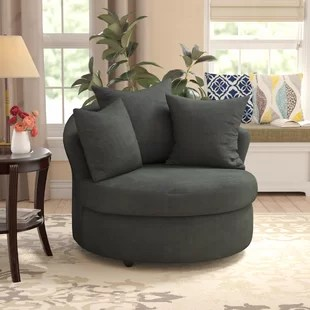large chairs for living room storage units round cuddle wayfair quickview