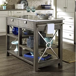 Kitchen Islands Stainless Steel Kitchen Islands & Carts You'll Love